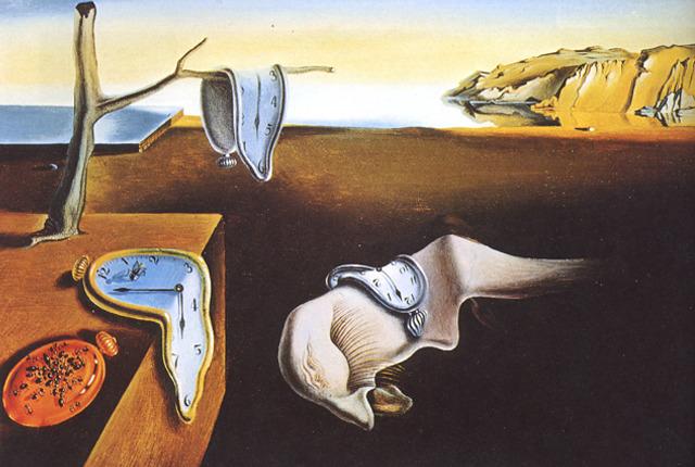 Salvador Dali - Trwałość pamięci